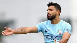 Manchester City Kehilangan Aguero Selama Enam Pekan
