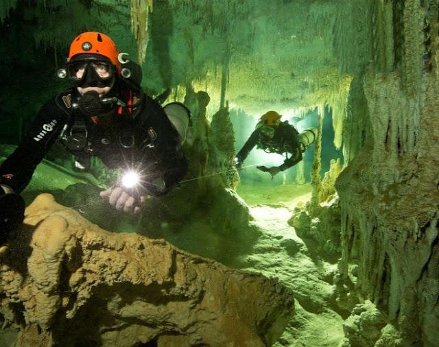 Gua Bawah Laut Terbesar Dunia Ditemui