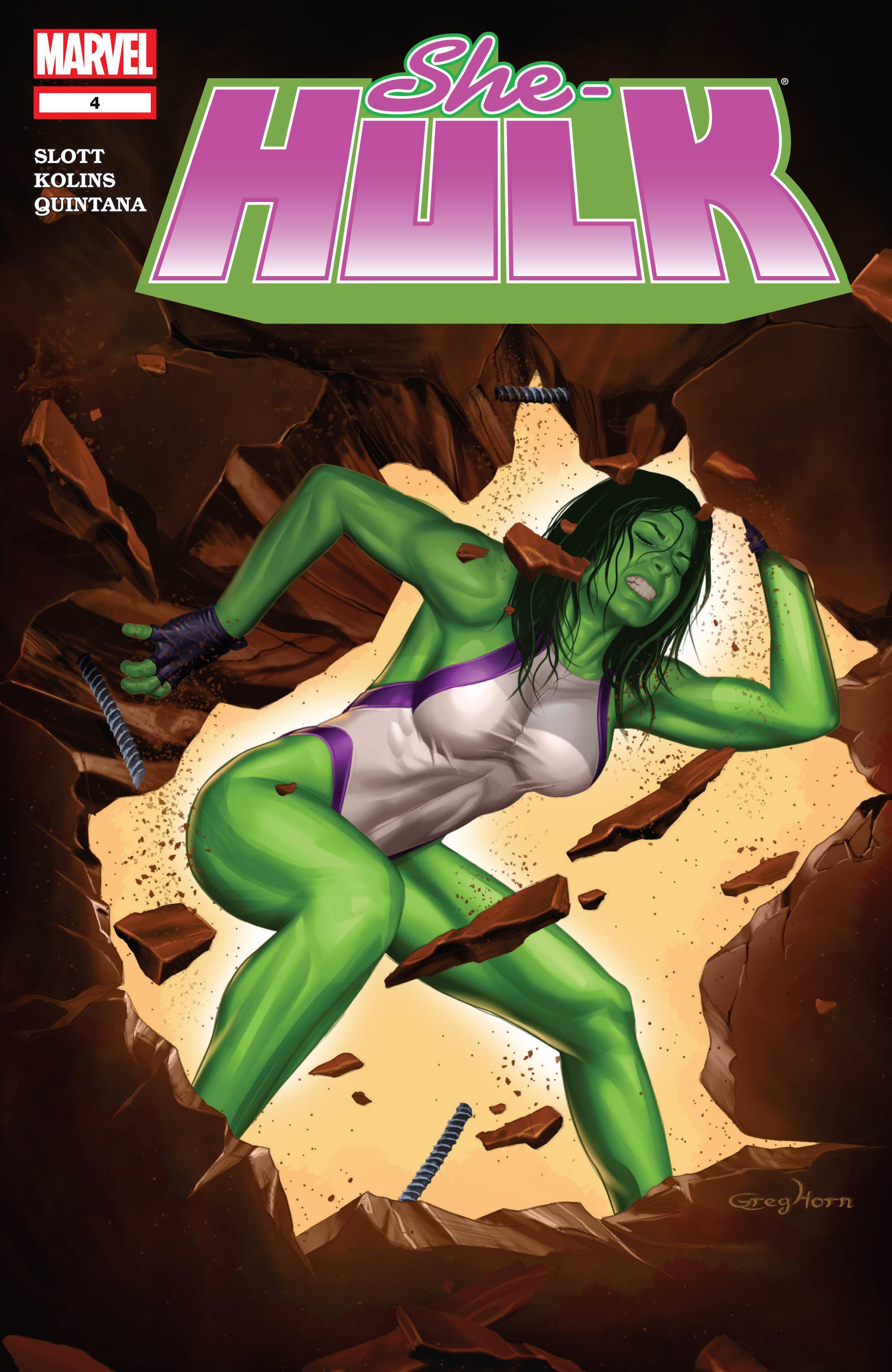 Read online She-Hulk (2005) comic -  Issue #4 - 1