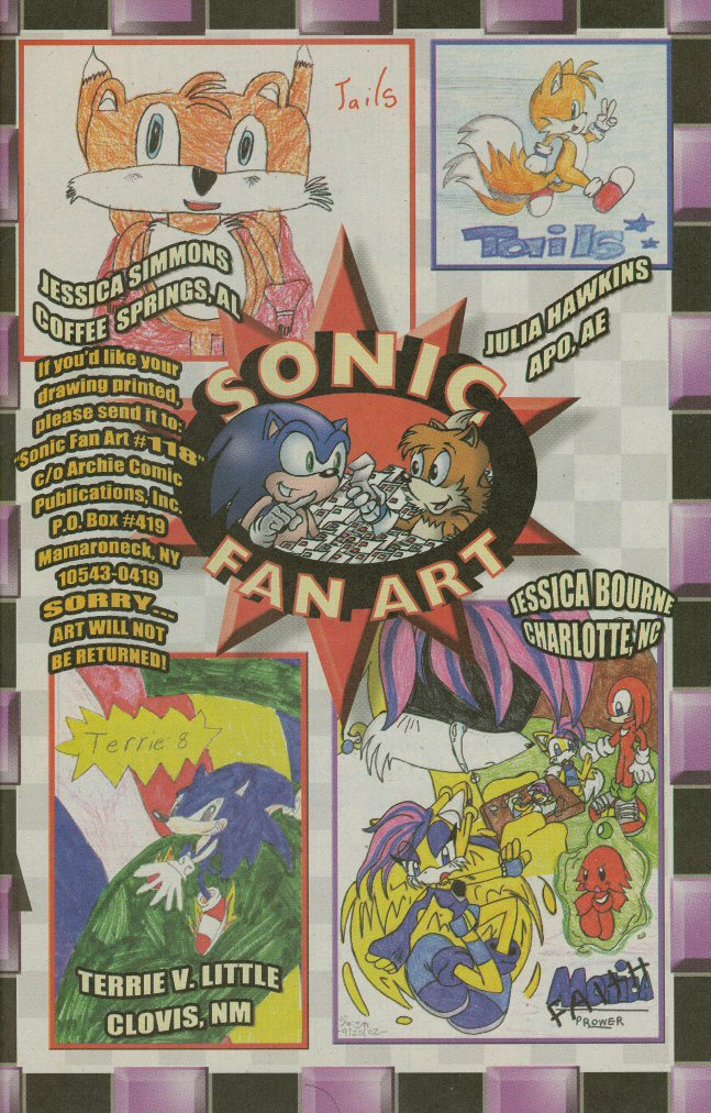 Read online Sonic The Hedgehog comic -  Issue #118 - 19