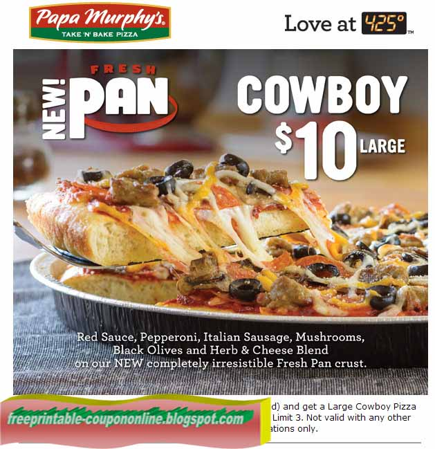 This is a graphic of Challenger Papa Murphys Printable Coupons