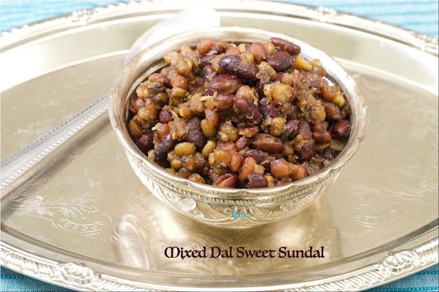 Mixed Dal Sweet Sundal