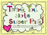 https://www.teacherspayteachers.com/Product/Thank-You-Note-SUPER-Pack-Great-for-volunteers-school-workers-parents-paras-520108