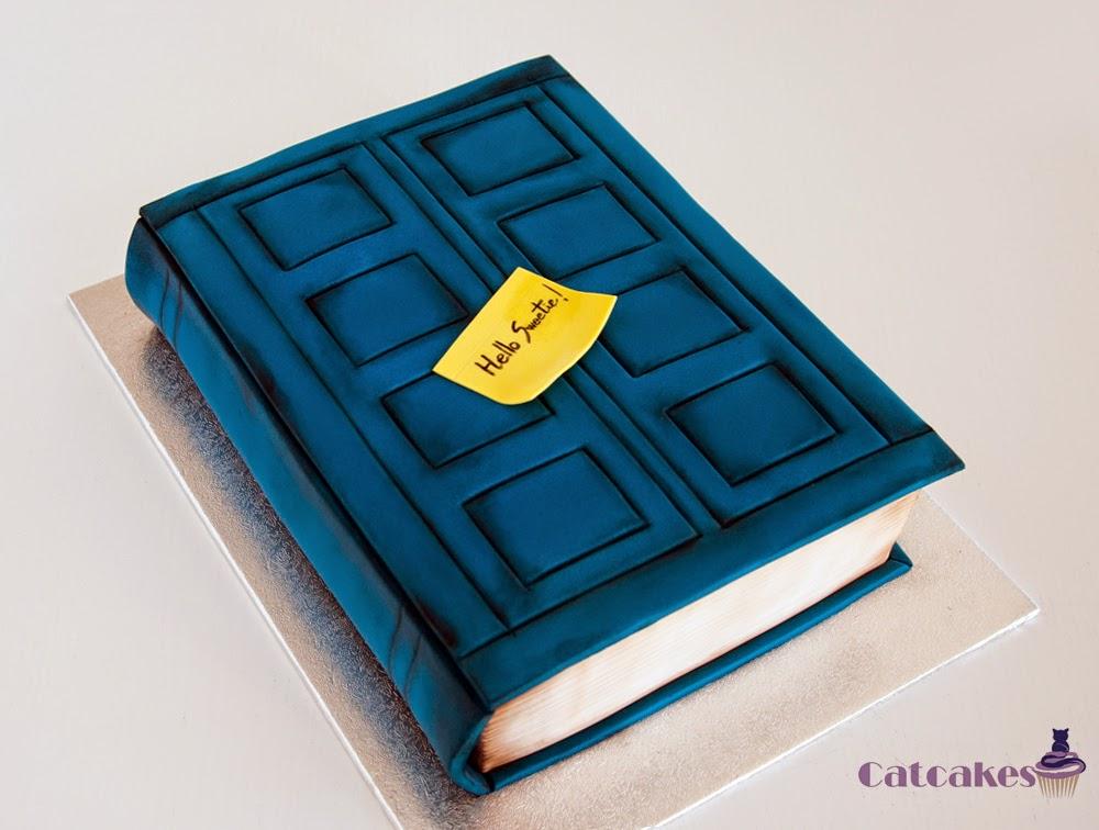 Tarta libro Dr Who