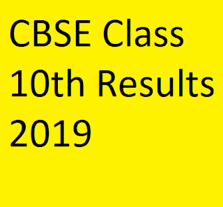 CBSE Class 10th Result 2019