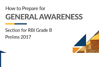 General Awareness Questions asked in the RBI Grade-B Phase-1 Exam