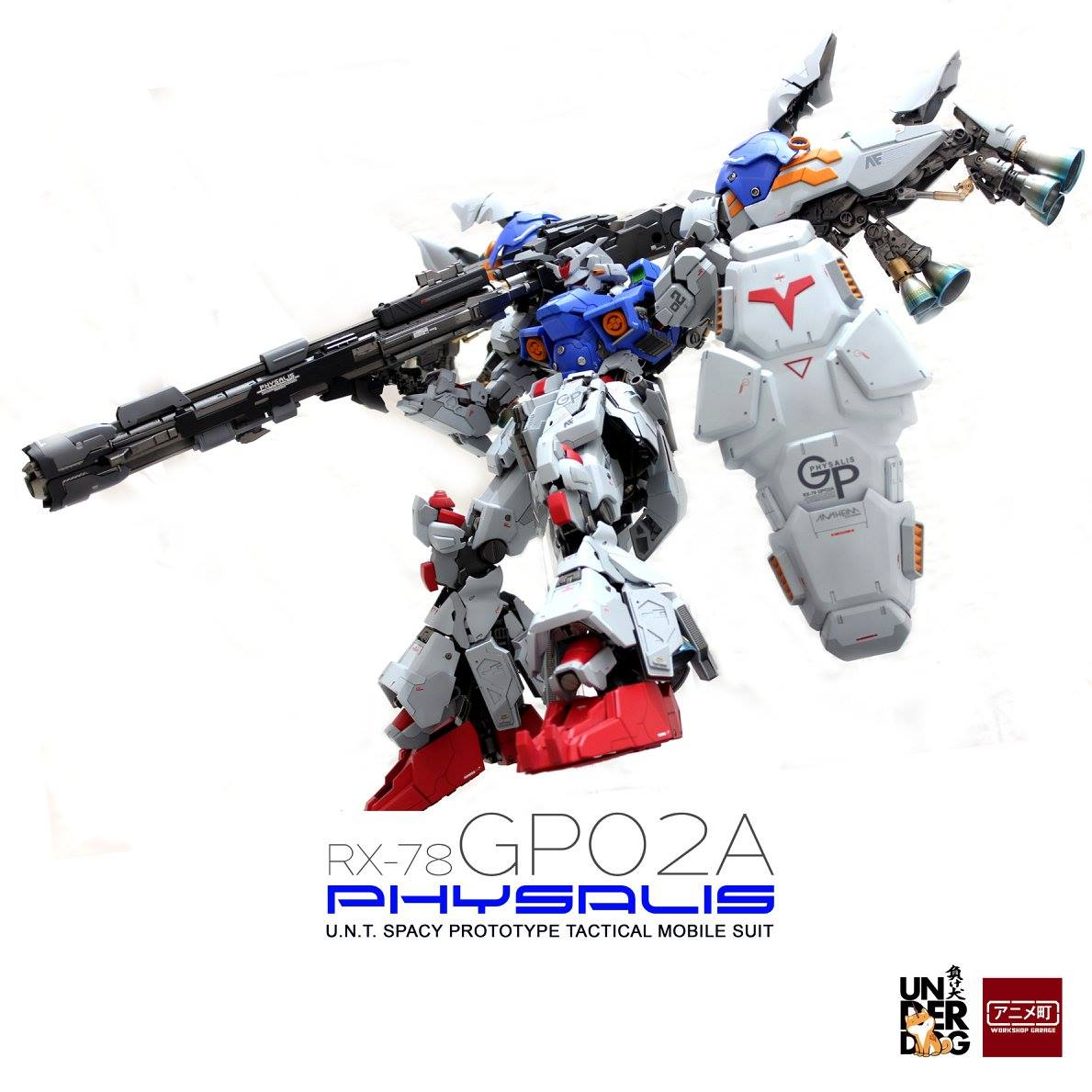 "Custom Build: MG 1/100 RX-78GP02A Gundam ""Physalis"" [Nightmare of Solomon / GBWC 2016 Indonesia]"
