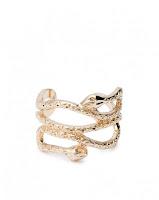 Anel Cobra Dourado