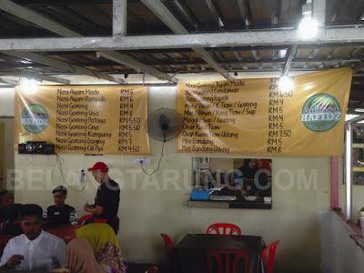 Senarai Harga Makanan
