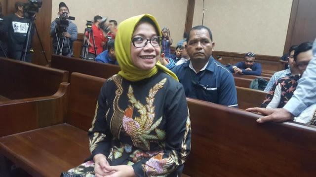 Jalani Sidang Perdana, Eni Saragih: Saya Pelajari Dakwaan Jaksa