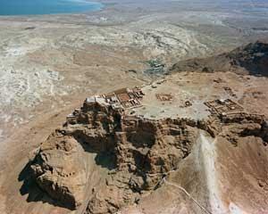 """Masada, también llamada """"la fortaleza"""", es uno de los lugares históricos de Israel 6"""