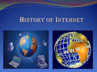 what is history of internet in short- Net history