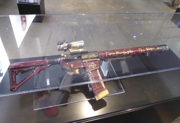 Suicide Squad Deadshot rifle prop
