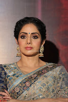 Sri Devi in designer saree stunning beauty at the launch of MOM movie Trailer~  Exclusive 067.JPG