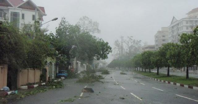Myanmar Kena Azab Kah? Ribuan Rumah Hancur Karena Rintik Hujan Seukuran Bola Golf