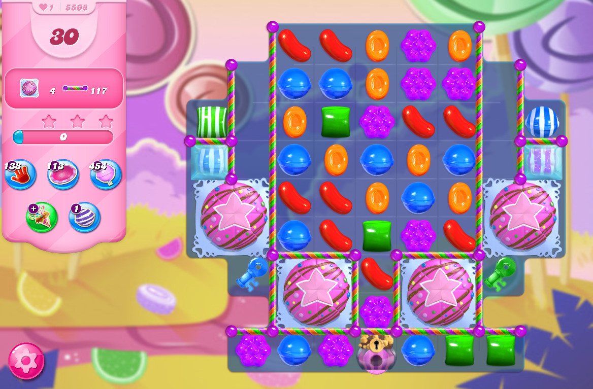 Candy Crush Saga level 5568