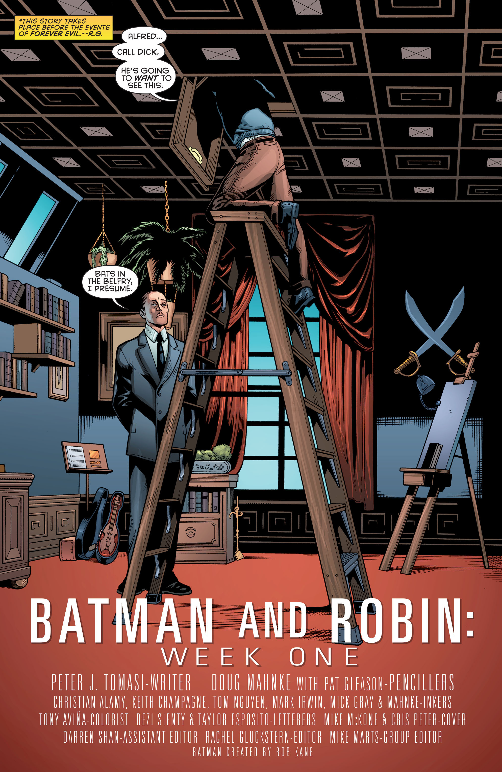 Read online Batman and Robin (2011) comic -  Issue # Annual 2 - 4