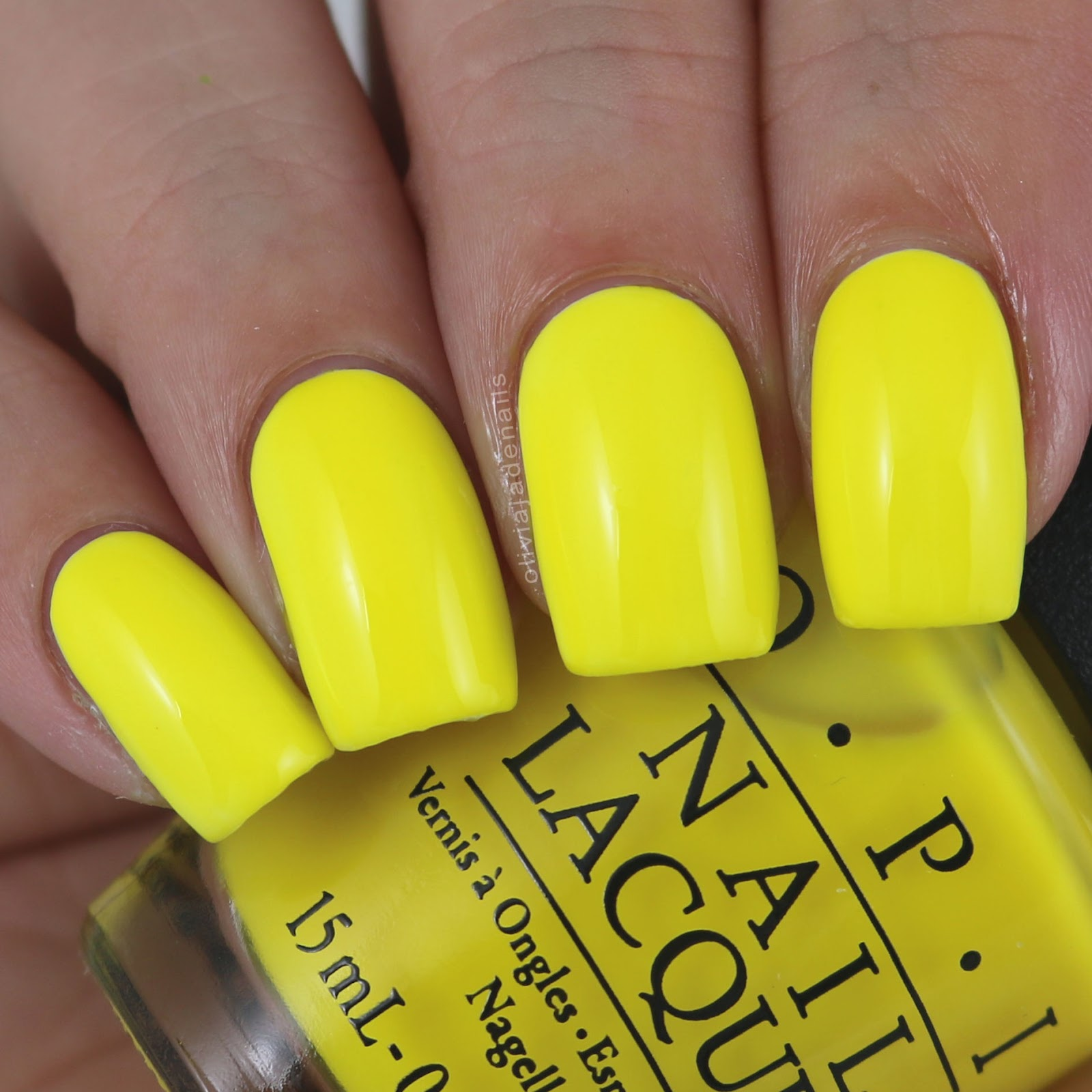 Why Does Neon Nail Polish Chip: Olivia Jade Nails: OPI Tru Neons Collection