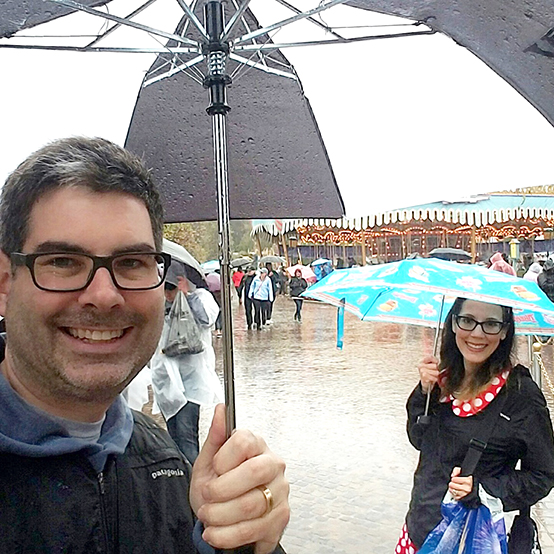 Rainy Days at Disneyland