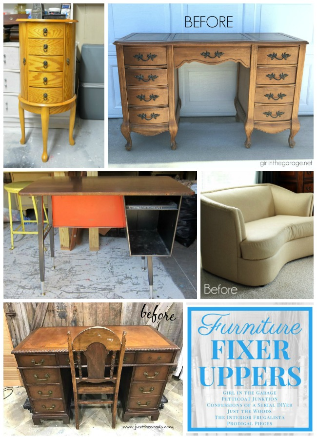 Furniture Fixer Upper June Challenge Before Makeovers