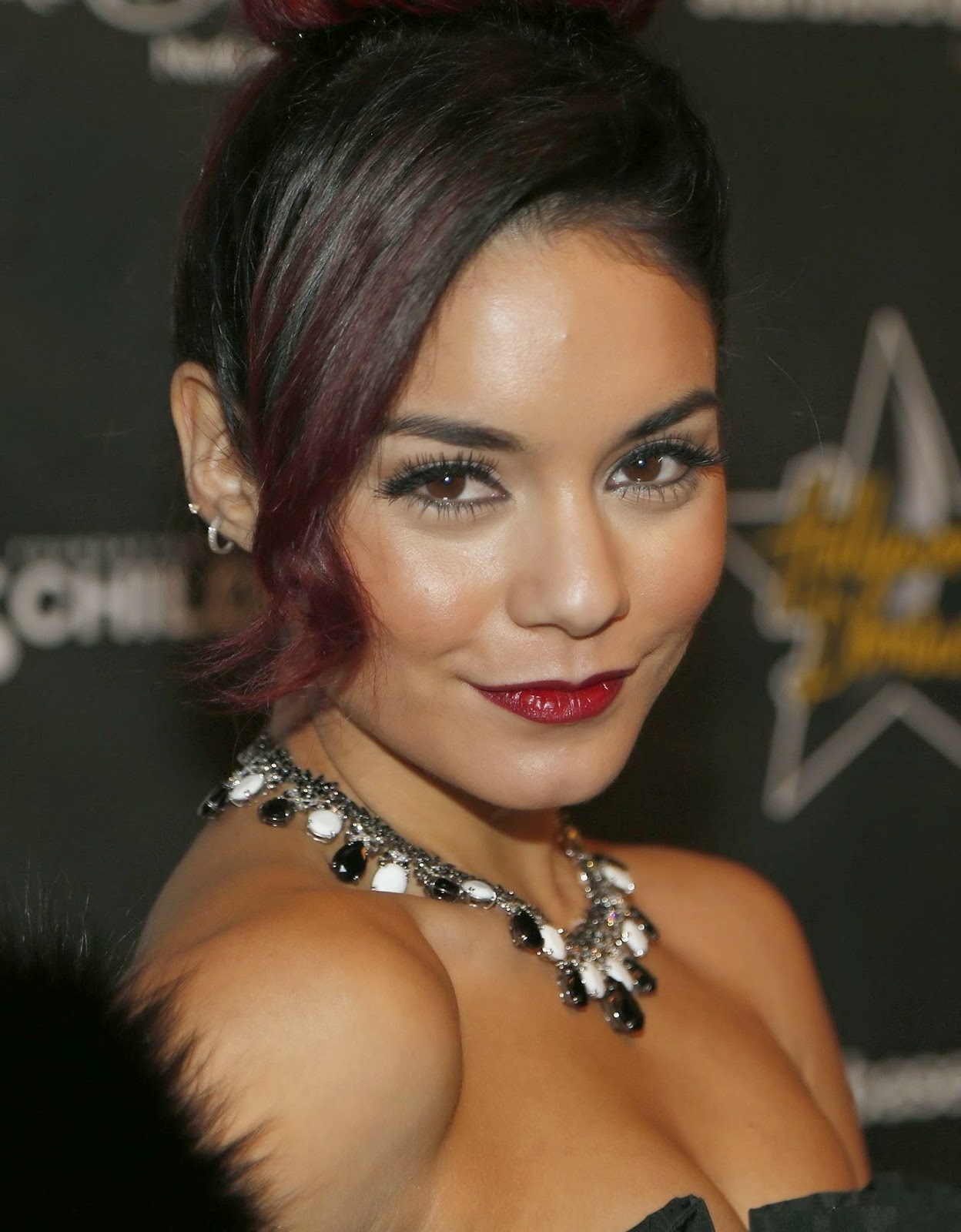 Vanessa Hudgens in Hollywood Domino Dallas charity event photo 1