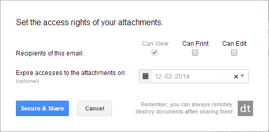 How to Secure, Control and Track Your Sent Gmail Attachments