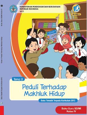 Buku Guru Kelas 4 Kurikulum 2013 Revisi 2017 Semester 1 Tema 3 Peduli Terhadap Makhluk Hidup