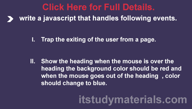 Trap the exiting of the user from a page   mouse over and mouse out