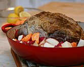 October - Lamb Roast with Lemon & Oregano