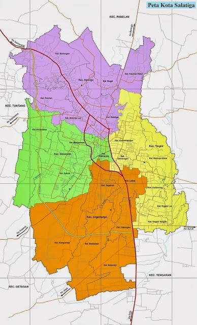 Peta Kota Salatiga