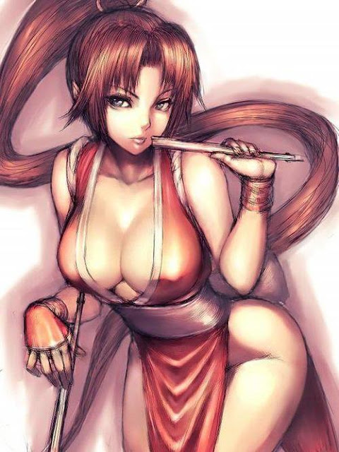 king of fighters sexy girls 03