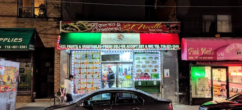 Carniceria Y Taqueria El Novillo Eat The World Nyc