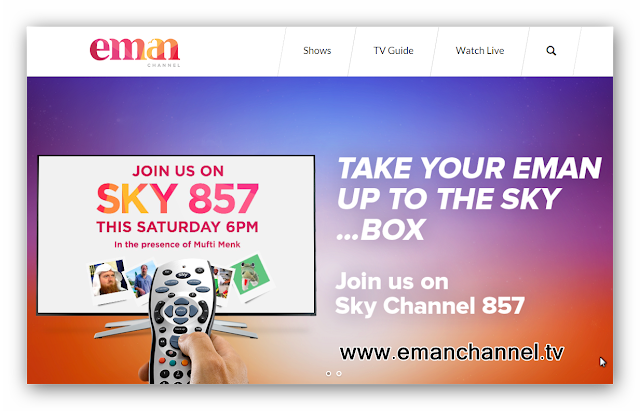 Eman Channel A Real Media Alternative for the Muslim Family │ SKY 857