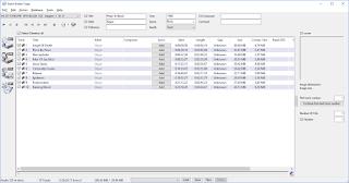 EAC disc track output screenshot.