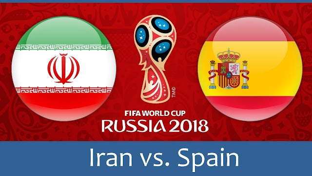 Iran vs Spain Full Match Replay 20 June 2018