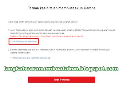 Buat Akun PB Garena Indonesia | Cara Verifikasi Email PB Garena