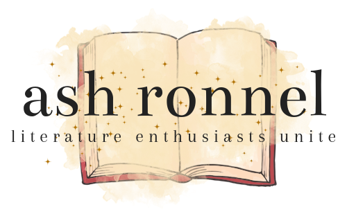 Ash Ronnel - literature enthusiasts unite