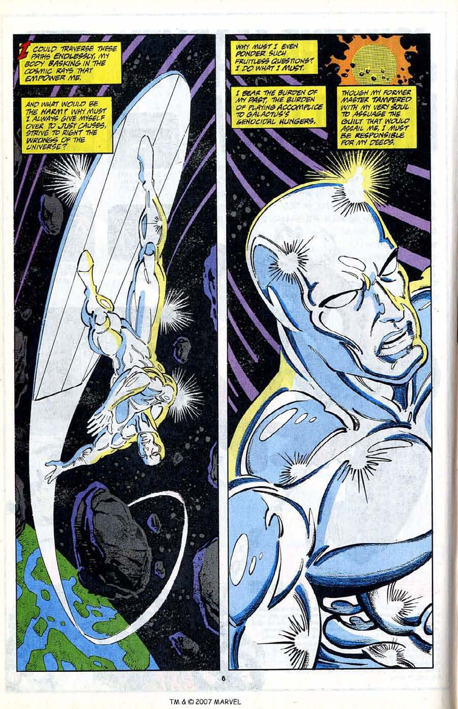 Read online Silver Surfer (1987) comic -  Issue #80 - 8