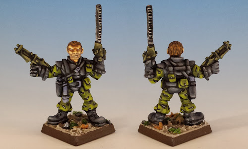 Talisman Timescape Chainsaw Warrior, Citadel (1988, sculpted by Trish Morrison)