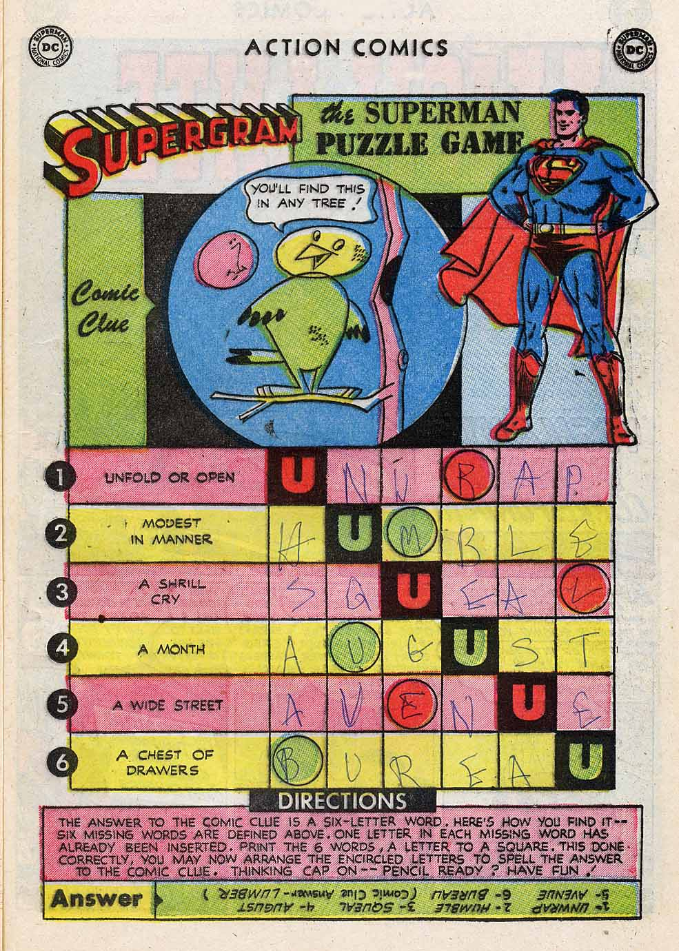 Read online Action Comics (1938) comic -  Issue #196 - 33