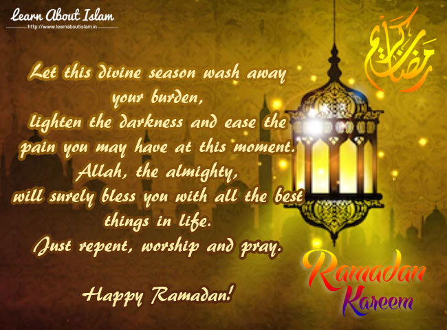 Ramadan Kareem Greetings, Ramadan Wishes, SMS, Whatsapp Wishes