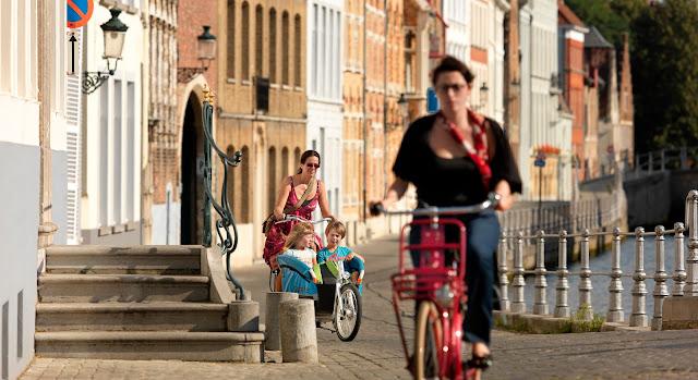 Flandes con niños