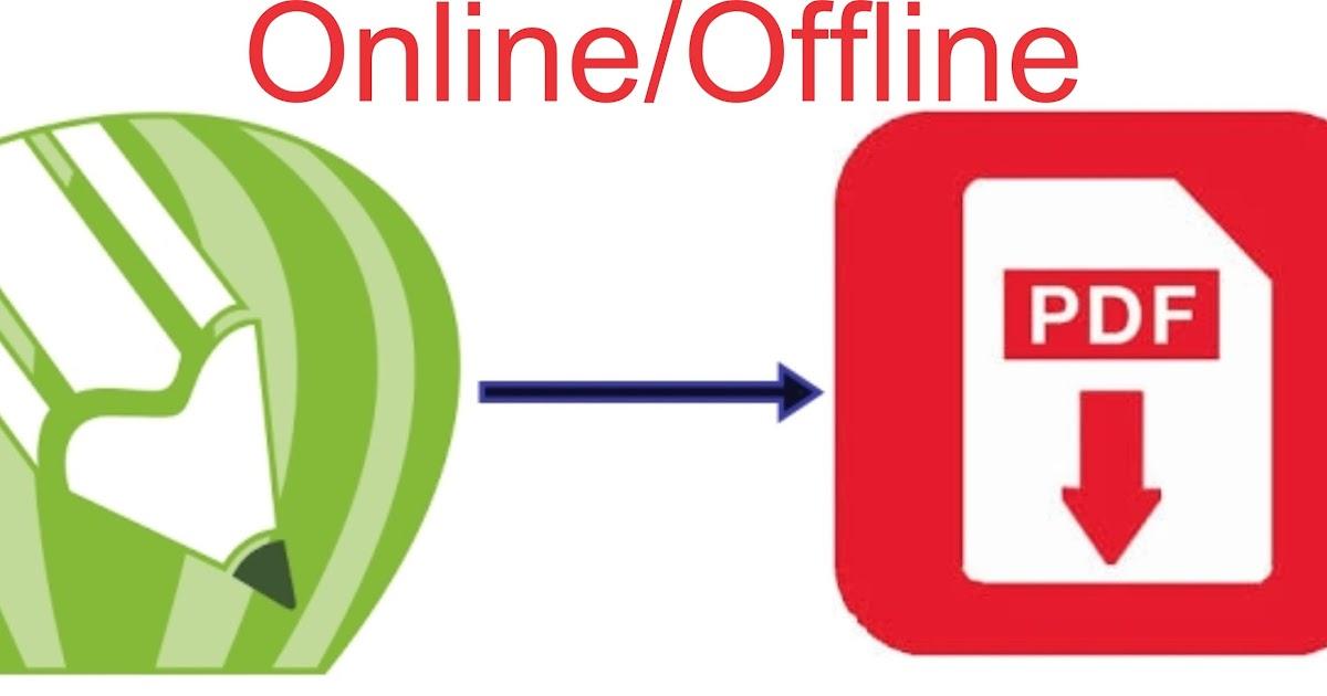 3 Cara Merubah dan Menyimpan File Corel CDR Menjadi PDF Online/Offline | Guru Corel