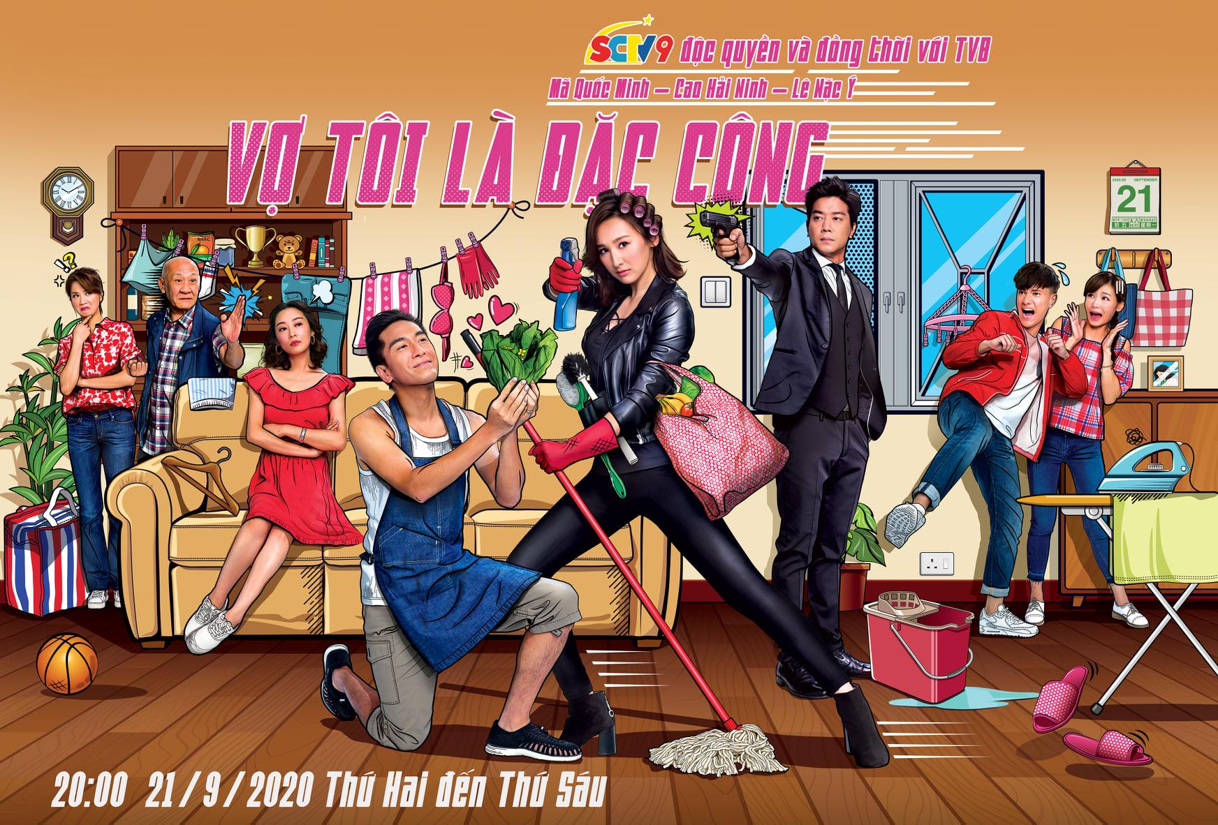 Vợ Tôi Là Đặc Công - SCTV9 (2020)