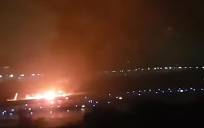 طائرة روسية, بوينج 737, هبوطها في مطار سوتشي,