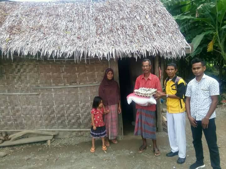 LPD Santuni Pak.Amiruddin yang tinggal dirumah 2 x 6 M.Pidie