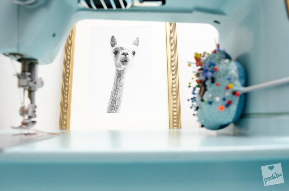 7 Lama-Ideen zum Verlieben – A4-Print