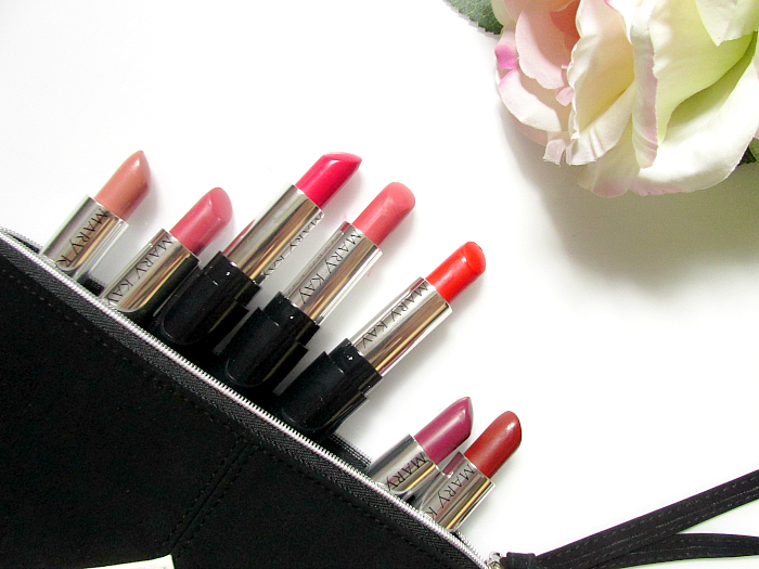Mary Kay - Gel Semi-Matte Lipsticks - Review, Swatches matte Lippenstifte