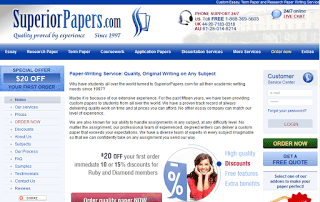 Superiorpapers.com Paper Writing Service Picture