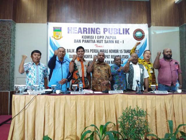 DPRD Sepakat Melarang Peredaran Miras di Tanah Papua